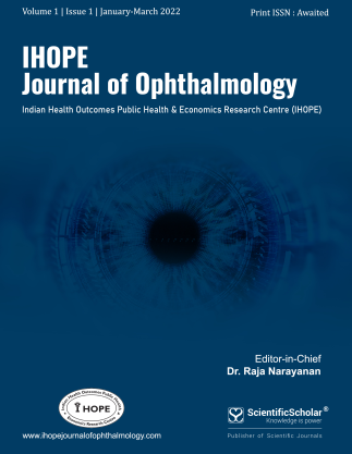 IHOPE Journal of Ophthalmology